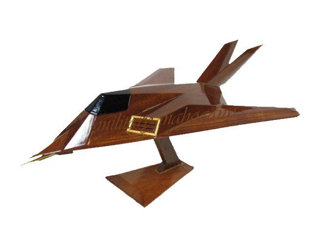 F-117 Nighthawk Wooden Model