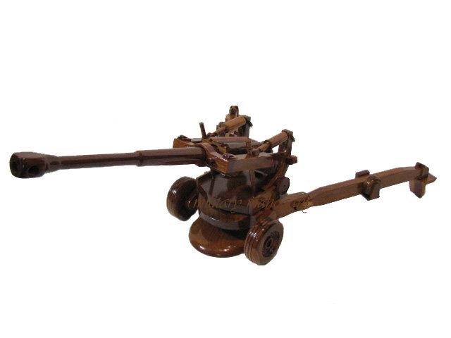 M198 105mm Howitzer Wooden Model