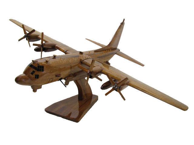 AC-130U Spooky Wooden Model