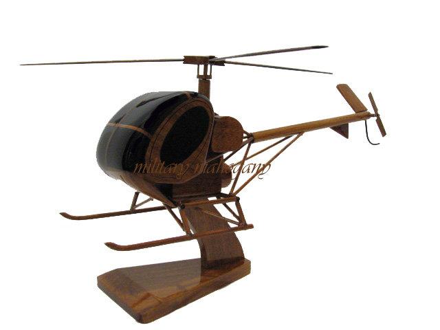Hughes / Sikorsky S-300 Wooden Model