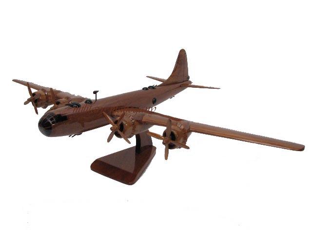 B-29 Superfortress Wooden Model
