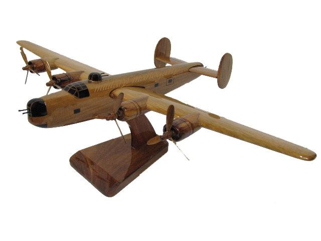B-24J Liberator Wooden Model