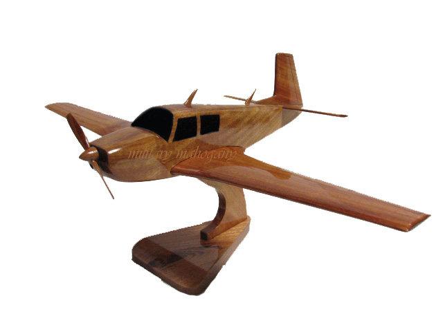 M20 Mooney Oviation Wooden Model
