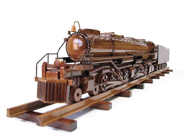 Union Pacific Big Boy Train Wooden Model