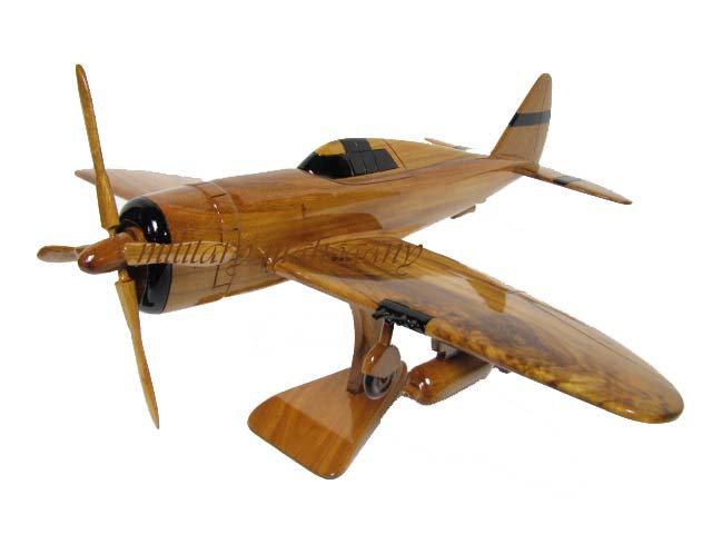P-47 Thunderbolt Razorback Wooden Model
