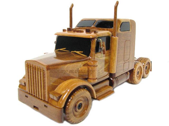Kenworth Semi Wooden Model