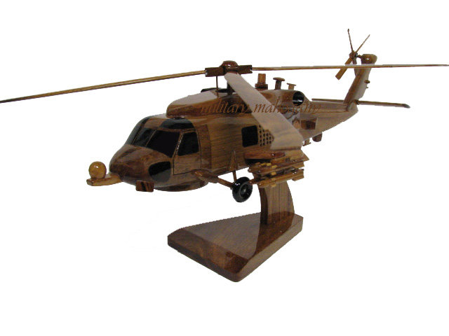 MH-60R Seahawk Wooden Model