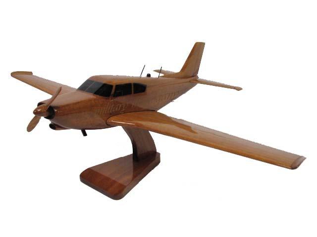 PA-24 Piper Comanche Wooden Model