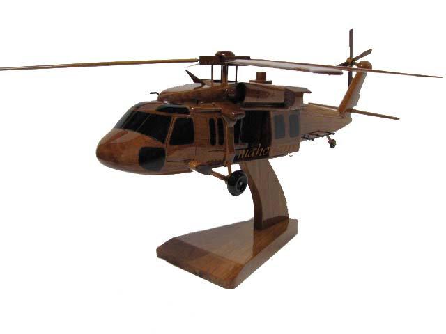UH-60 Blackhawk Wooden Model