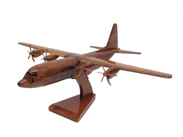 C-130J Super Hercules Wooden Model