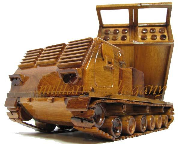 M270 MLRS Wooden Model