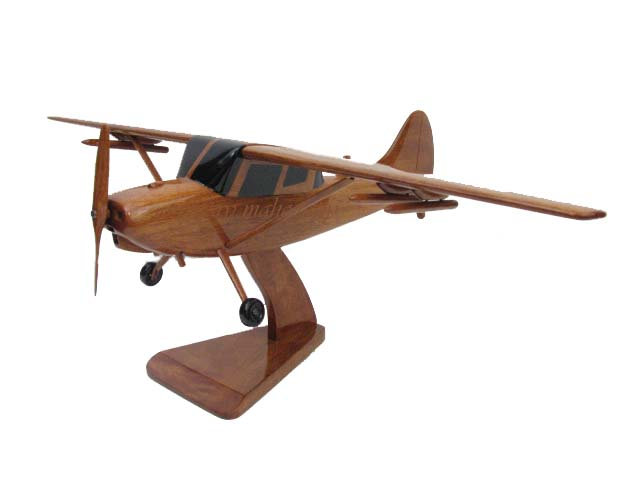 O-1 Birddog Wooden Model