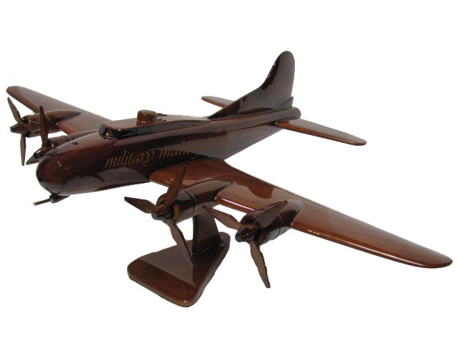 B-17 Flying Fortress Wooden Model Version 1