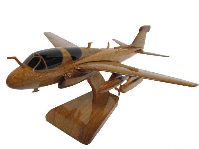 EA-6B Prowler Wooden Model