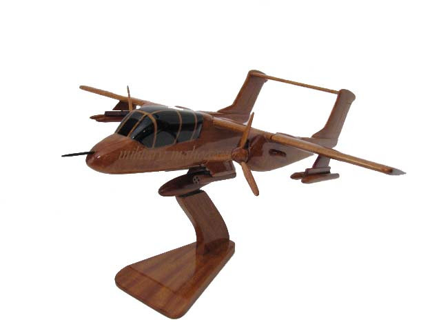 OV-10 Bronco Wooden Model