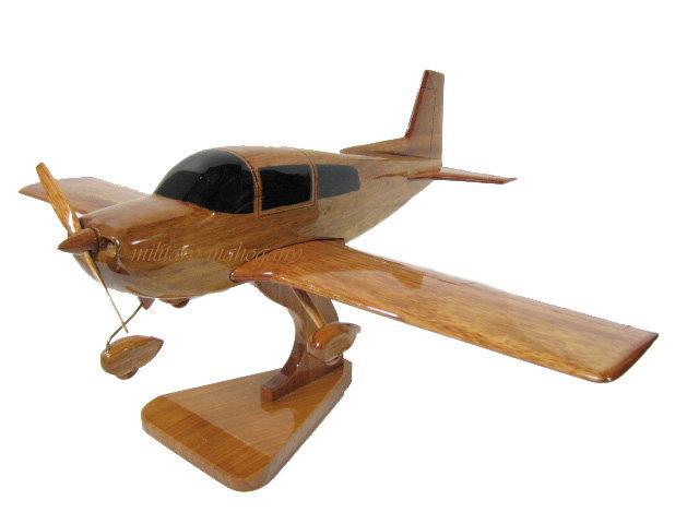 Grumman Tiger Wooden Model