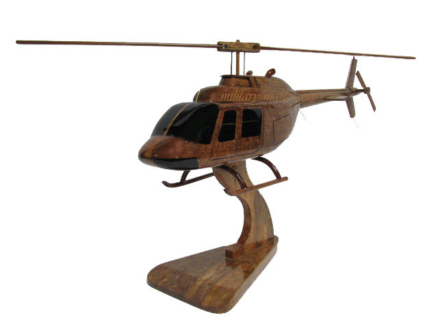 OH-58 AC Wooden Model