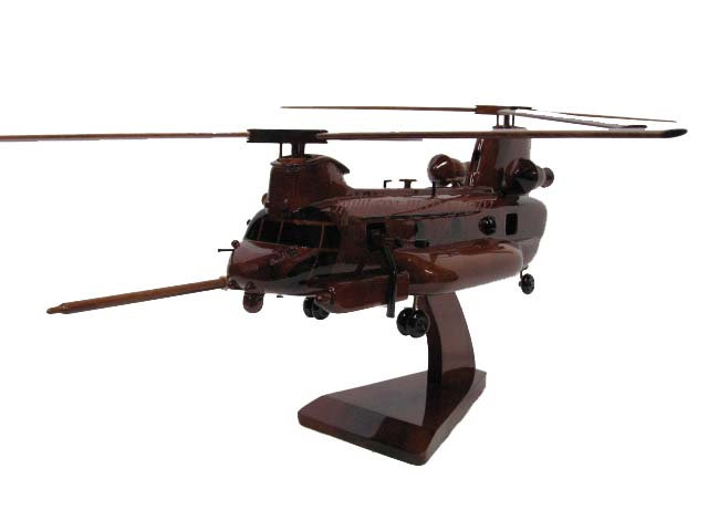 MH-47G Chinook Wooden Model