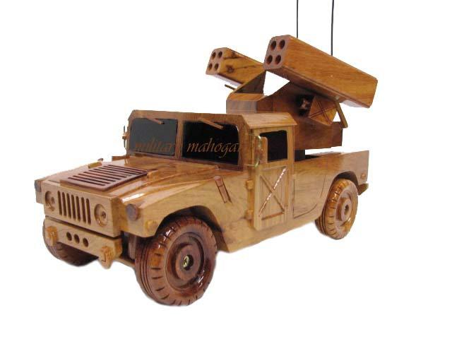 AN/TWQ-1 Avenger Wooden Model