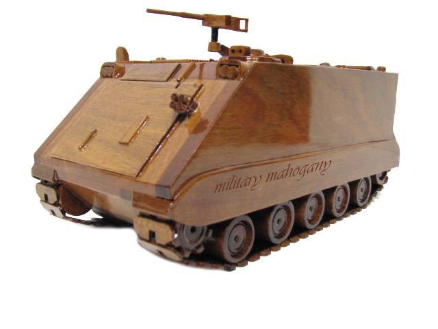M113 APC Wooden Model