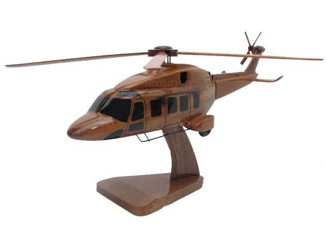 AgustaWestland AW189 Wooden Model
