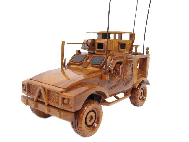 M-ATV MRAP Wooden Model