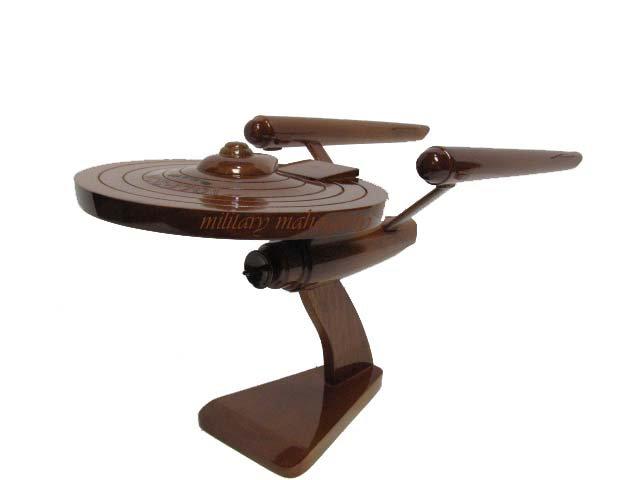 Star Trek Enterprise NCC-1701 Wooden Model