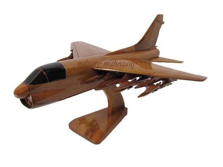 A-7 Corsair II Wooden Model