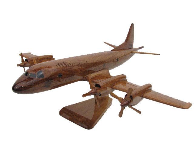 P-3 Orion Wooden Model
