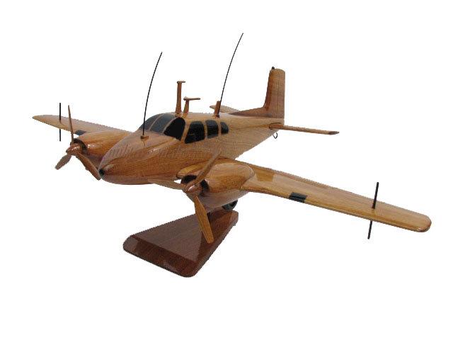 RU-8D Seminole Wooden Model