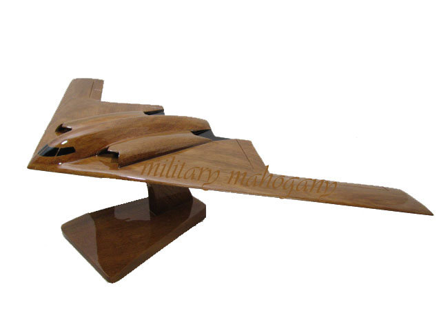 B-2 Spirit Wooden Model