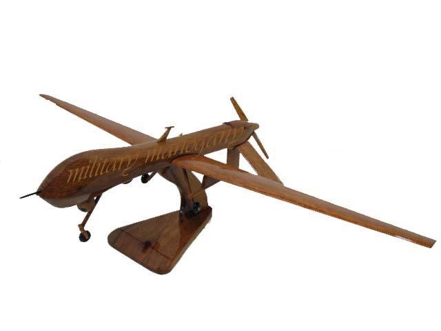 MQ-1 Predator A Wooden Model