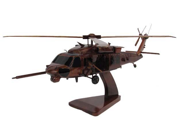 HH-60 Pave Hawk Wooden Model