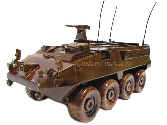 M1126 Stryker Wooden Model