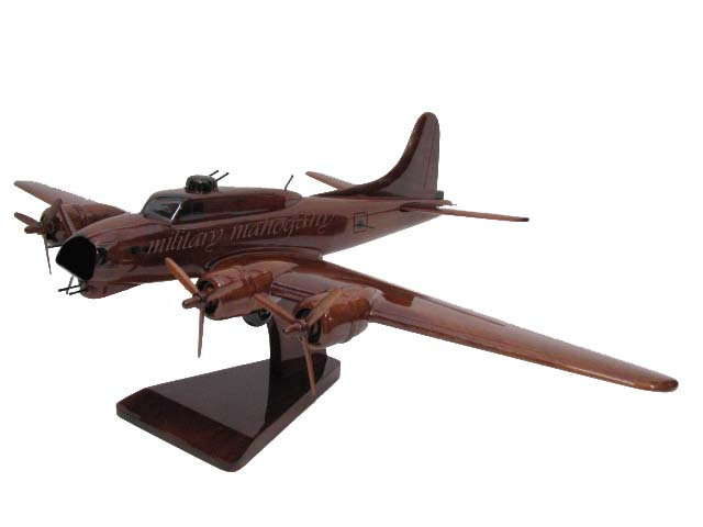 B-17 Flying Fortress Wooden Model Version 2