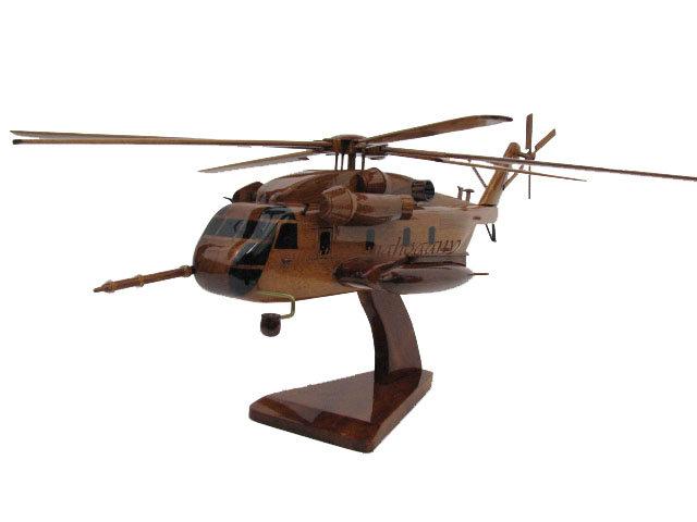 CH-53E Super Stallion Wooden Model