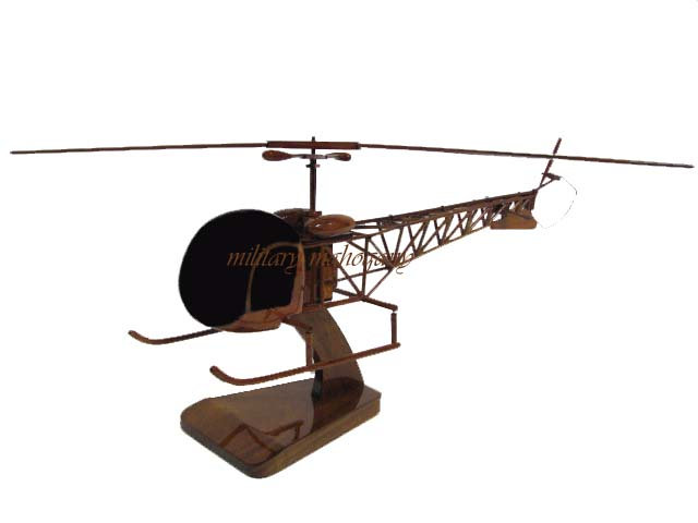 Bell 47 Wooden Model