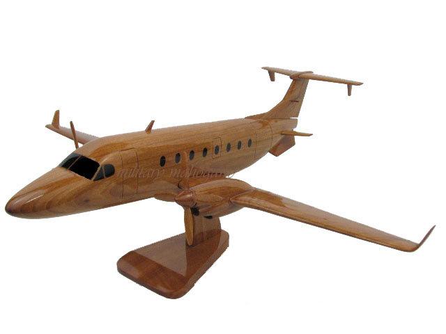 Beech King Air 1900D Wooden Model