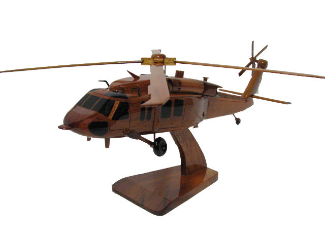 MH-60S Knighthawk Wooden Model