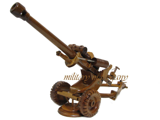 M119 105mm Howitzer Wooden Model