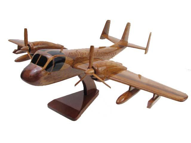 OV-1 Mohawk Wooden Model