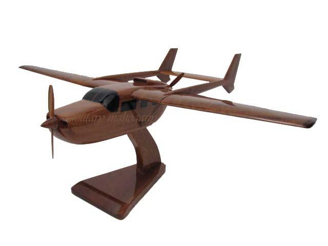 Cessna 337 Wooden Model