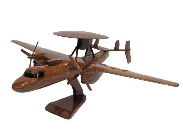 E-2C Hawkeye Wooden Model