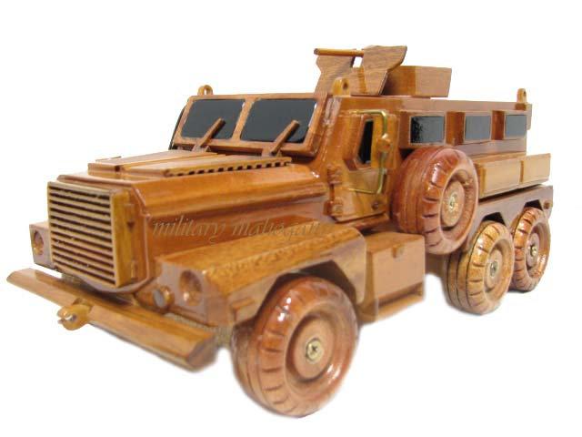Cougar 6x6 MRAP Wooden Model