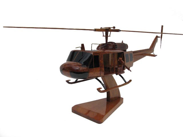 UH-1 Huey Door Gunner Wooden Model