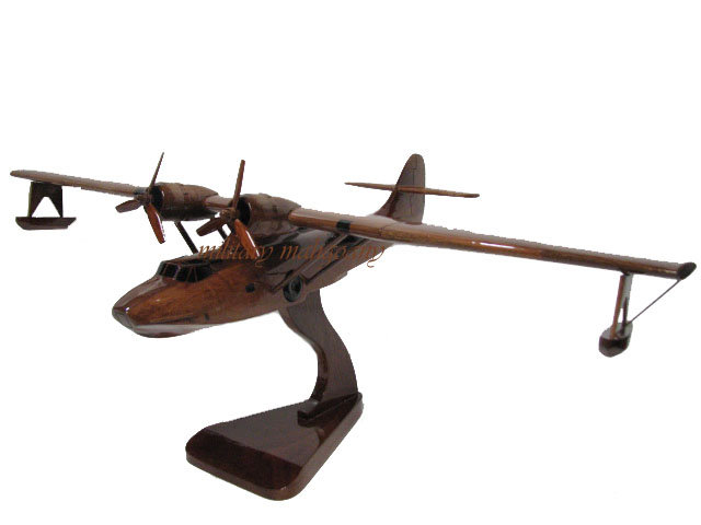 PBY Catalina Wooden Model