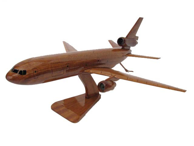KC-10 Extender Wooden Model