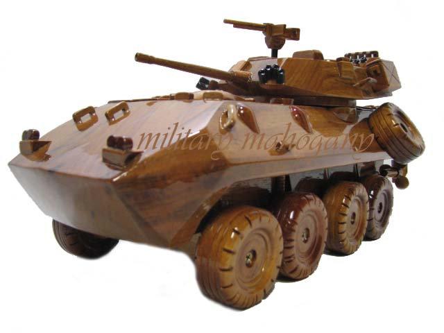 LAV-25 Coyote Wooden Model