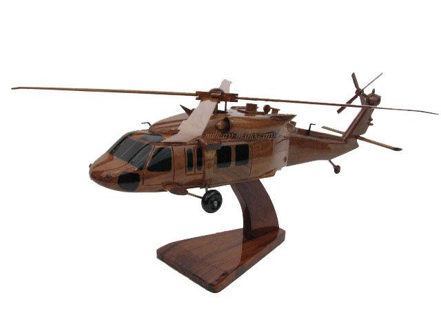 UH-60M Blackhawk Wooden Mike Model