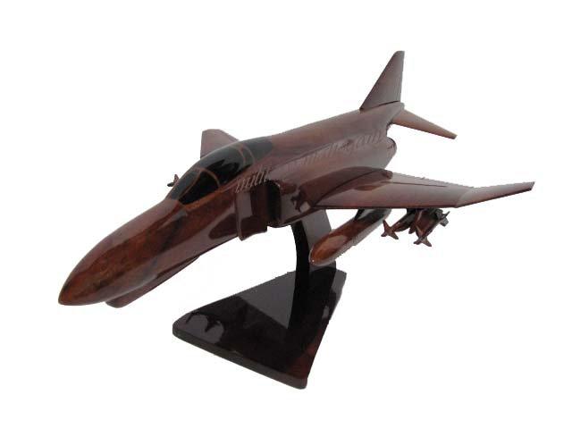 F-4 Phantom Wooden Model